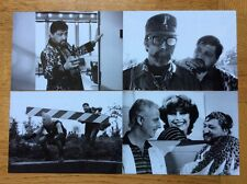 "Rainer Werner Fassbinder (4 Pressefotos '70er) - in ""Kamikaze"""