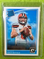 BAKER MAYFIELD OPTIC RATED ROOKIE CARD RC JERSEY #6 Cleveland Browns 2018 Panini