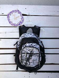 High Sierra Backpack Black And White
