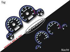 Letronix plasma compteur de vitesse cadrans El-Dash vw polo 6n Golf 3 0-200kmh #