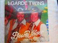 LeGarde Twins : Down Under Country LP  FACTORY SEALED   Country