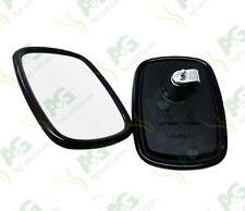 """Universal Mirror Head 7"""" x 5"""" Tractor Digger Dumper Land Rover   2 Pcs"""