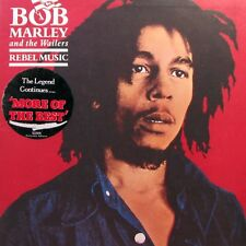 BOB MARLEY and THE WAILERS Rebel Music LP + Hype Sticker    Sirh70