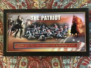 Toy soldiers lead The Patriot 3 Continental infantry fully painted High Quality