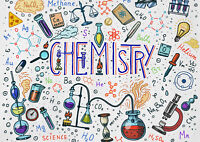 A1|Chemistry Poster Print A1 Size 60 x 90cm Science Vector Decor Gift #14791
