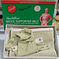 Very Rare New Old Stock, Iob Bub Brand Men's Supporter Belt #78 Duribilknit,