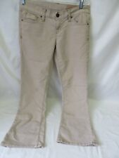 Gap Womens 1969 Jeans Beige Corduroy Boot Cut Size 6A   #6474