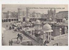 Court of Honour Franco British Exhibition 1908 Postcard 634a