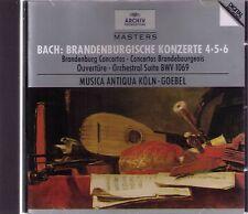 J. S. Bach   BRANDENBURGISCHE KONZERTE 4-5-6     CD-Album