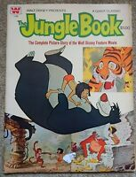WALT DISNEY JUNGLE BOOK GIANT CLASSIC COMIC COMPLETE PICTURE STORY 1960s - 1970s