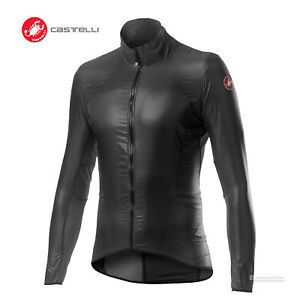 Castelli ARIA SHELL Windproof Cycling Wind Jacket : DARK GREY