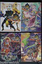 JAPAN Monster Hunter 3 (tri-) G Official Anthology Comic 1~4 Complete Set