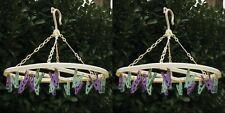 20 Peg Oval Hanging Sock Underwear Laundry Dryer Hanger