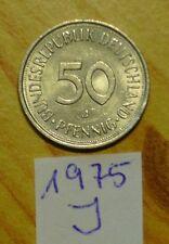 BRD 50 Pfennig 1975 J - !!  SUPER AUKTION  !!! ZUGREIFEN !!!