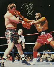Roddy Piper autographed 8x10 photo with Mr. T. Reprint