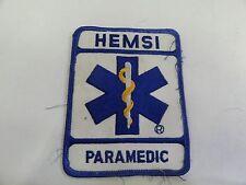 PATCH FIRE RESCUE MEDICAL HEMSI PARAMEDIC
