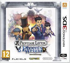 Professor Layton vs. Phoenix Wright: Ace Attorney (Nintendo 3DS) NEW SEALED PAL