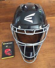Easton M7 Catchers Helmet Padded Ventilated Black Baseball Size Adult Large