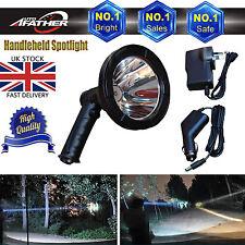 LED Handheld Hunting Spot Light 125mm Lamping Shooting Rechargable 100W Bright