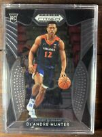 De'Andre Hunter Rookie Card #4 Panini Prizm Basketball NBA RC Atlanta Hawks MINT