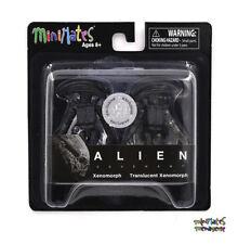 Alien: Covenant Movie Minimates TRU Toys R Us 1 Xenomorph & Translucent Xenomorp