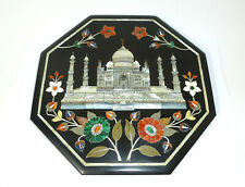 Bild Pietra Dura Mikromosaik Taj Mahal Moschee Perlmutt Mlachit