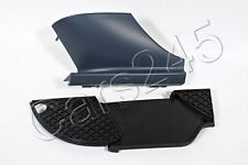 Genuine Front Bumper Grill RH +Tow Hook Primed Cover SET MERCEDES CLK W208 98-03