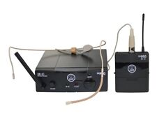 AKG WMS 40 Mini sport Set ism1 wms40 Incl. poches émetteur + support de tête Microphone