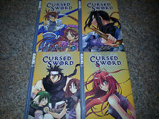 LOT OF  Chronicles of the Cursed Sword Vol 1 2 3 4 paperbacks