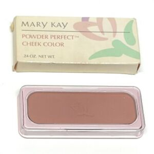 Mary Kay Powder Perfect Cheek Color Brushed Suede # 3798 Discontinued 0.24 Oz.