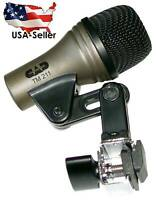 NEW TM211 Mic Microphone For Tom Floor Toms Bongos Cajon Hand Drums TM 211