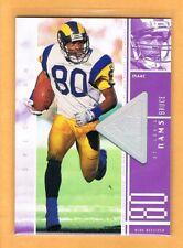 1998 SPx Finite Spectrum Isaac Bruce /1375 St. Louis Rams #104