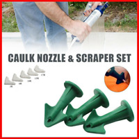 3 in 1 Silicone Caulking Finisher Tool Nozzle Spatulas Filler Spreaders Tools
