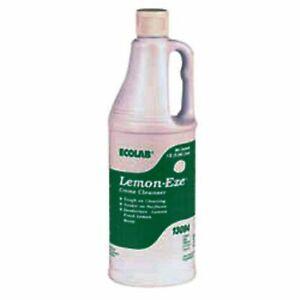 Ecolab 13094 LemonEze Cream Cleanser, Pro-Strength Lemon-Eze Blasts Grime, Gr...
