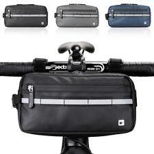 Bici Borsa per Telaio da Bici Bicicletta da Manubrio Impermeabile Touchscreen
