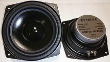 "2x DY-166-9A Dynavox 16cm 6,5"" Bass Lautsprecher 165mm Tieftöner 4Ohm PAAR"