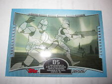 STAR WARS CLONE WARS 2004 TOPPS CHASE CARD 3-D 3D SUBSET N° B5 MINT