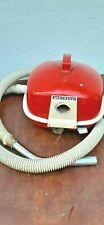 Vintage mid century modern vacuum eureka canister red vacuum #502