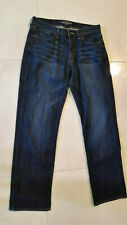PRE-OWNED LUCKY BRAND DENIM MENS JEANS SIZE 30/30 BLUE