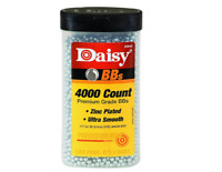 Daisy BB Zinc Plated 4000 .177 4.5mm Silver Steel Smooth Air Gun CO2 Ammunition