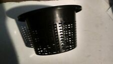 "mesh pot bucket lid 10"" hydroponic grow basket"