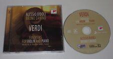 CD/VERDI/FANTASIAS FOR VIOLIN AND PIANO/BIDOLI/CANINO/Sony 88883725172
