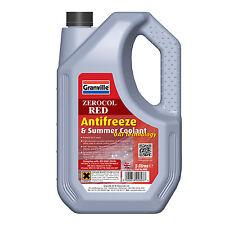 Granville RED Car Antifreeze Summer Coolant Concentrate OAT Long Life 5 Litres