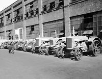 """1939 Moline Tractor Factory, Minneapolis, MN Old Photo 8.5"""" x 11"""" Reprint"""