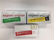 Sagami Original Condoms ultra thin 0.01mm ,0.02 mm, Free ship from Japan