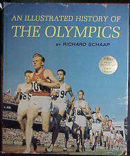 """AN ILLUSTRATED HISTORY OF THE OLYMPICS"" 1963 1ST ED BOOK WITH DJ by DICK SCHAAP"