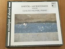 Bartok Microcosmos Integrale, Claude Helffer, H. Austbö 2 CD-BOX HARMONIA MIUNDI