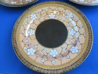 vintage Art Deco lusterware made in Japan dishes 6 plates
