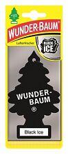 3 Stück Lufterfrischer Wunderbaum Black Ice - Duft Aroma - PKW Auto