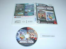 REMINGTON BIRD HUNT / XTREME FISHING DOUBLE PACK game in case - Nintendo Wii